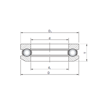 53205 CX 53205 CX Thrust Ball Bearings