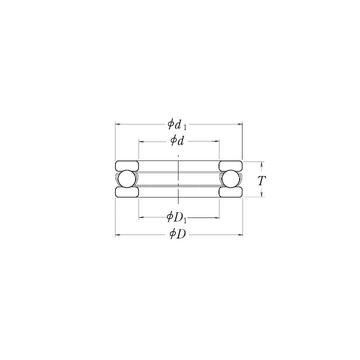 MT6 RHP MT6 RHP Thrust Ball Bearings