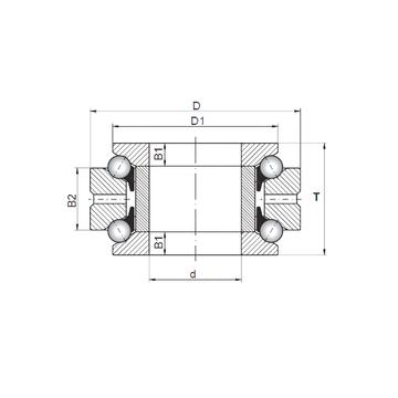 234413 MSP CX 234413 MSP CX Thrust Ball Bearings