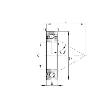 7602085-TVP FAG 7602085-TVP FAG Thrust Ball Bearings