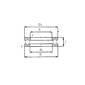 0-40 FBJ 0-40 FBJ Thrust Ball Bearings