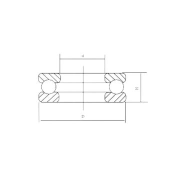 51215 CRAFT 51215 CRAFT Thrust Ball Bearings