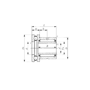 NAXI 723 IKO NAXI 723 IKO Complex Bearings