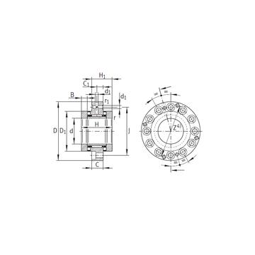 ZARF50115-TV INA ZARF50115-TV INA Complex Bearings