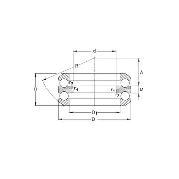 54305 NKE 54305 NKE Thrust Ball Bearings