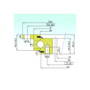 ZBL.20.0644.201-2SPTN ISB ZBL.20.0644.201-2SPTN ISB Thrust Ball Bearings