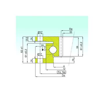 ZK.22.1100.100-1SPPN ISB ZK.22.1100.100-1SPPN ISB Thrust Ball Bearings